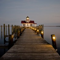 Fine Art - Roanoke Marshes Lighthouse